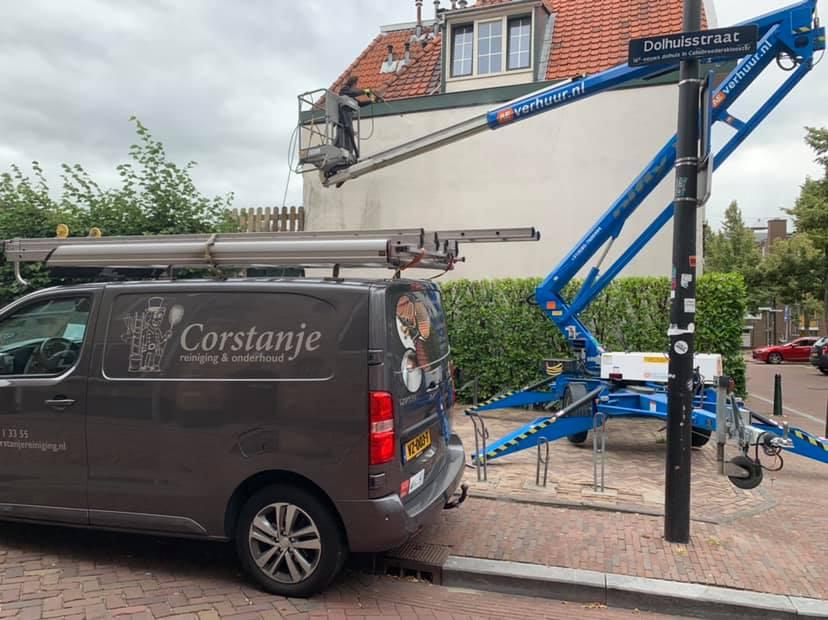 Onze bus voor een klus in Breda