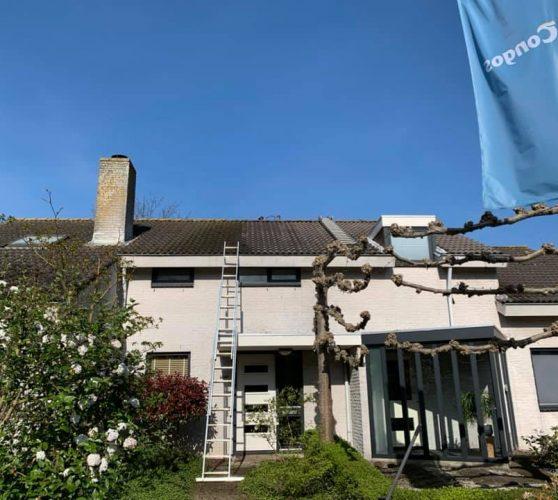 Dakreinings project in Etten-Leur.